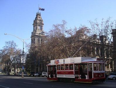 Bendigo Court House, Talking Tram image