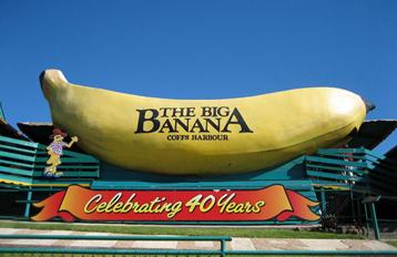 Big Banana, Coffs Harbour, NSW, Australia image