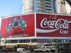 Coca Cola sign, Kings Cross image