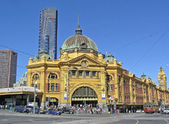 Flinders St Railway Station image