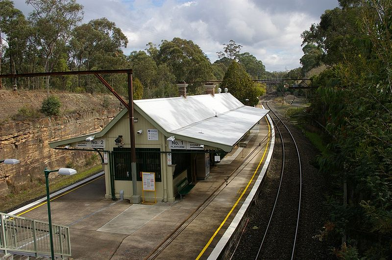 Glenbrook NSW Railway Station image