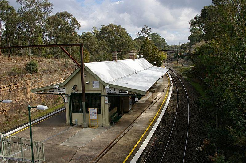 Glenbrook NSW Railway Station image