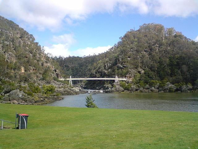 The Cataract, Launceston, Tasmania (image)