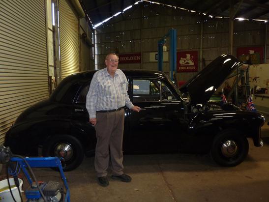 Canowindra Motors Holden Museum - Charlie McCarron - FX Holden (image)