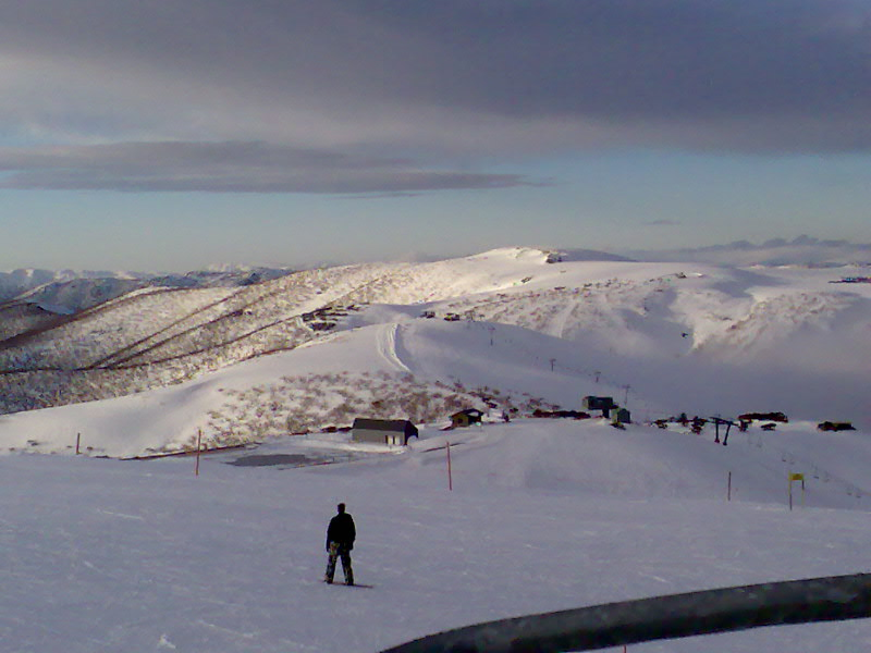 Mt Hotham, Victorian Alps, with snow (image)