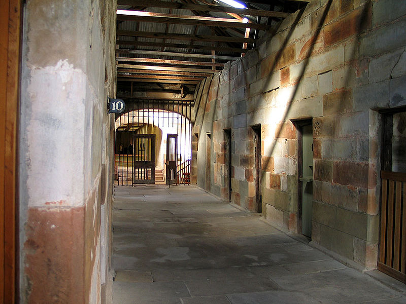 Model Prison, Port Arthur, Tasmania (image)