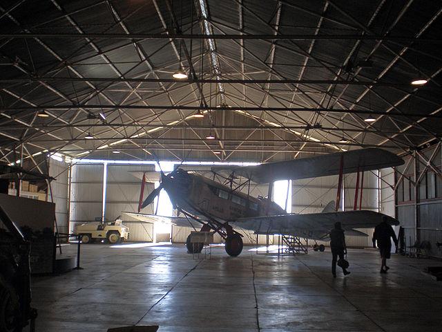 Qantas Hanger, Longreach Queensland (image)
