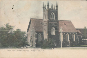 St Johns Church of England, Mudgee, circa 1906 (image)
