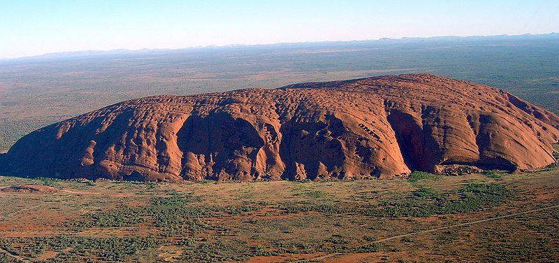 Uluru or Ayer's Rock (image)