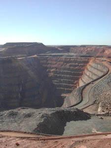 Super Pit goldmine, Kalgoorlie, Western Australia image