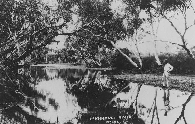 Leichhardt River, Mt. Isa, 1929 (image)