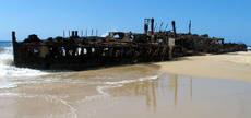 Maheno wreck, Fraser Island (image)
