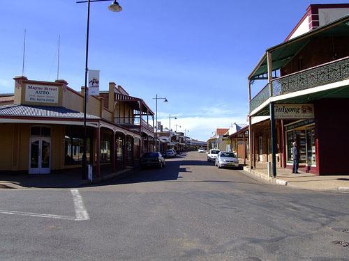 Mayne St., Gulgong, NSW, Australia image