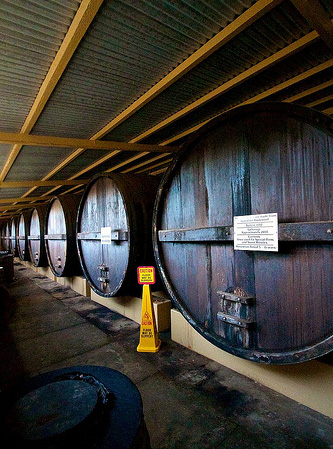 Seppeltsfield wine vats (image)