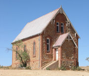 Abandonned church in Silverton, NSW image