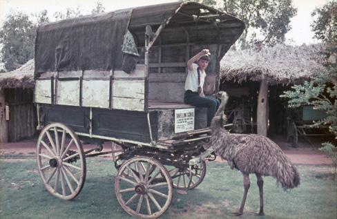Travelling School, Swan Hill Folk Museum/Pioneer Settlement (image)